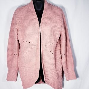A New Day Pink Sweater Cardigan NWOT Size X Small
